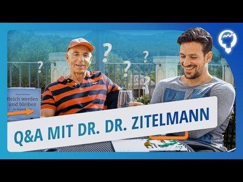 Das rät Immobilien-Millionär Dr. Dr. Zitelmann Jungen Menschen - Interview Q&A