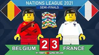 Belgium vs France 2 3 UEFA Nations League 2021 All Goals Extended Highlights Lego Football