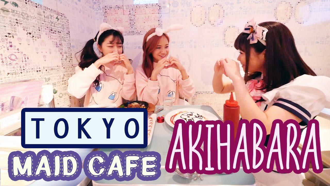 AKIHABARA: Anime Shopping in TOKYO & MAID CAFE! ft. Sunnydahye