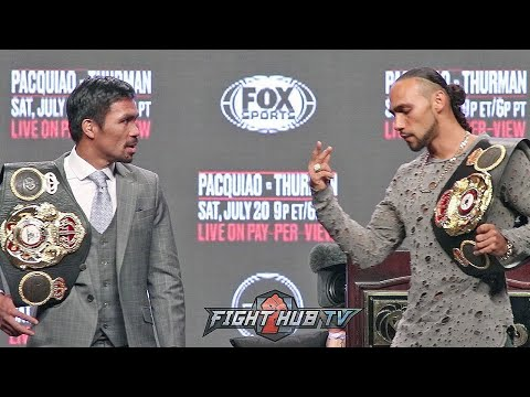 DAMN!! KEITH THURMAN DEMANDS PACQUIAO