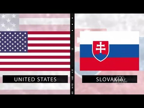 WJC 2019:  Slovakia vs USA   Dec 26,  2018