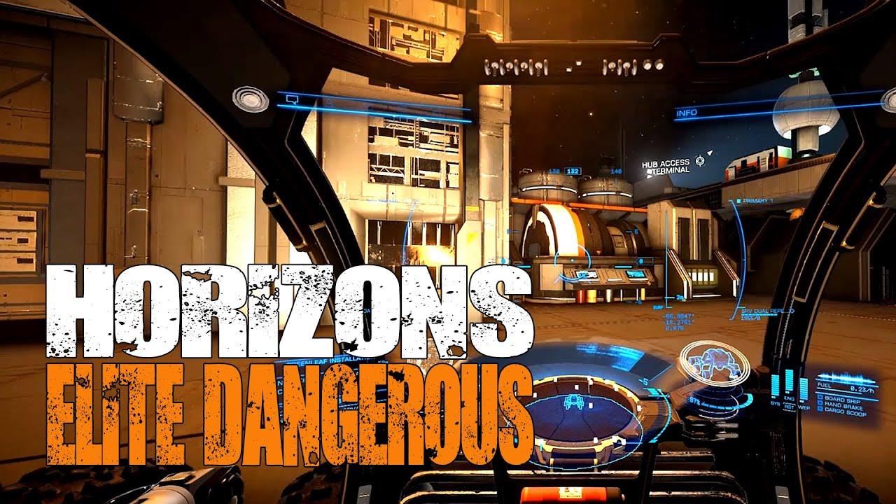 Elite: Dangerous Horizons - Settlements, New Missions, Resource ...