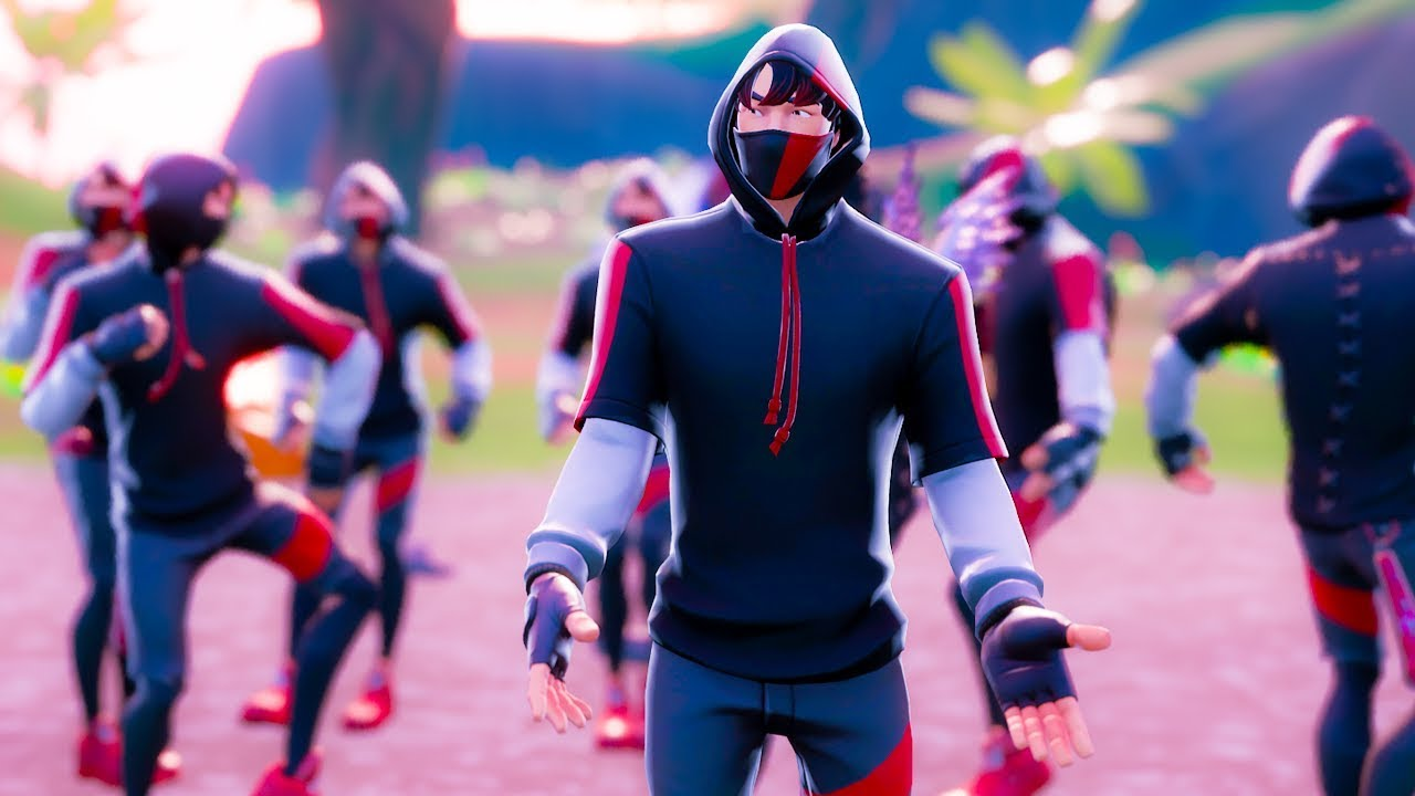 Fortnite But Every Player Is Ikonik