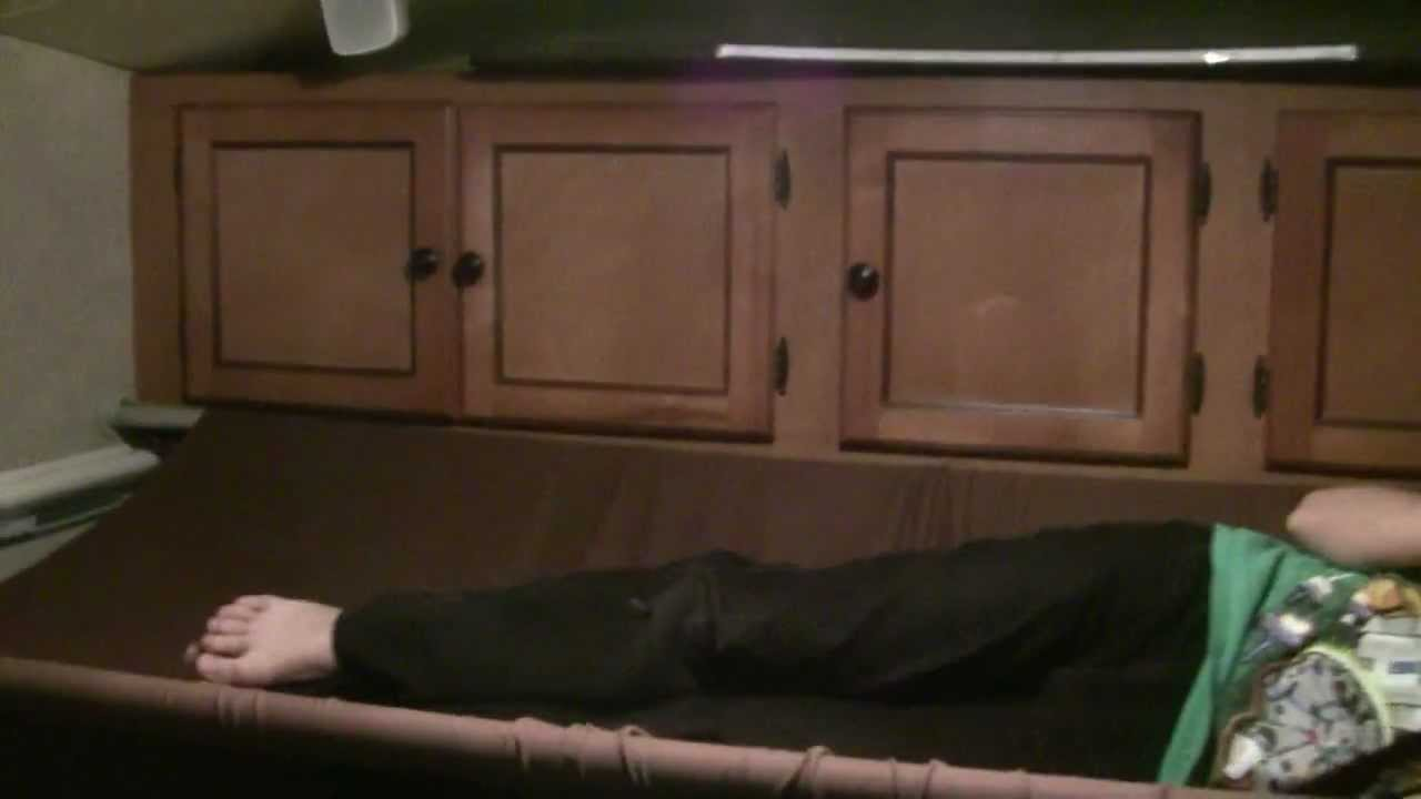Removable Bunk Bed Hammock For Rv Youtube