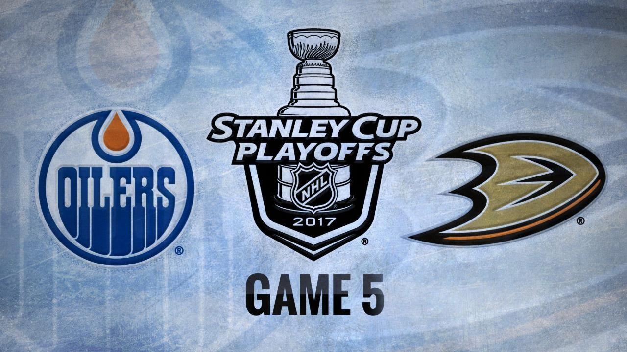Edmonton Oilers Vs Anaheim Ducks May 5 2017 Game Highlights Nhl 2016 17 Youtube