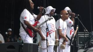 """Slippin In"" Buddy Guy & Trouble Funk Comes Onstage@RFK Stadium Washington DC 7/4/15"