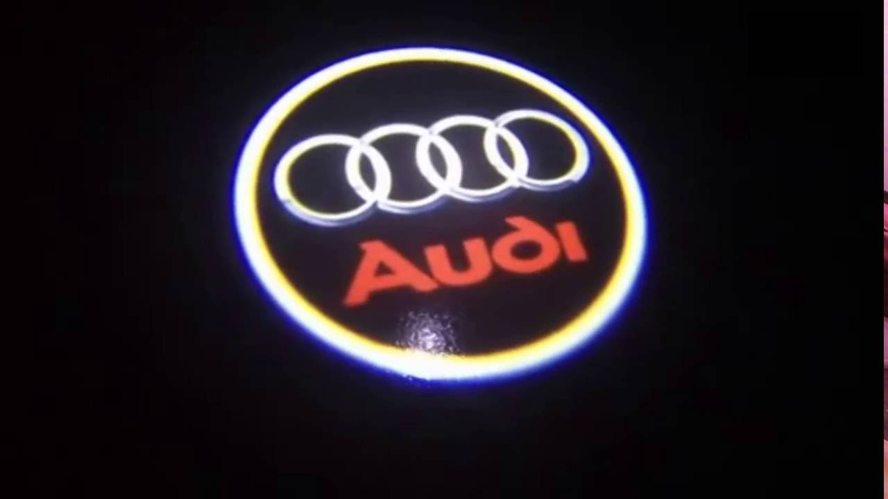 Auto Logo Verlichting How To Install Audi Car Door Led Logo Projector Ghost Shadow Lights