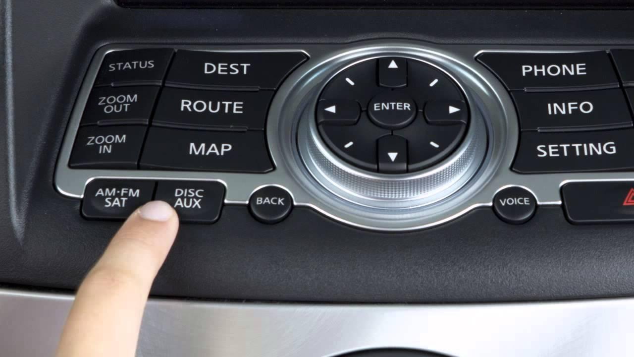 2013 Infiniti G Sedan   Bluetooth Streaming Audio (if So Equipped)   YouTube