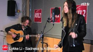 Lykke Li - (rtl2.fr/videos) I follow river, Sadness is a blessing, Silver Spring
