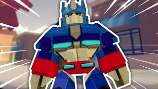 HOW TO BE OPTIMUS PRIME IN ROBLOXIAN HIGHSCHOOL!!