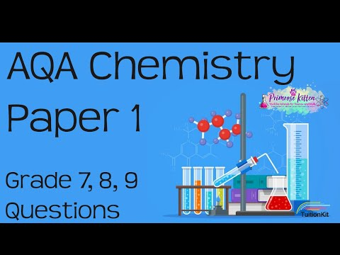 10 Hardest Questions in AQA Chemistry Paper 1 - Grade 7, 8, 9 Booster Revision
