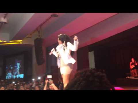 Keyshia  Cole performs  Shoulda Let You Go  at WBLS  2103 Circle Of Sisters