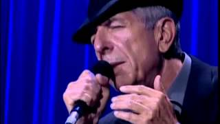 Leonard Cohen - Everybody knows (live in London, 2008)