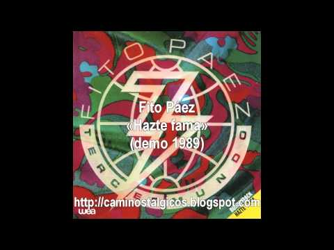 Fito Páez - Hazte fama (demo 1989) LP Tercer Mundo