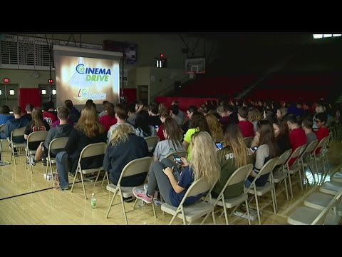 Struthers High School students learn safe driving skills