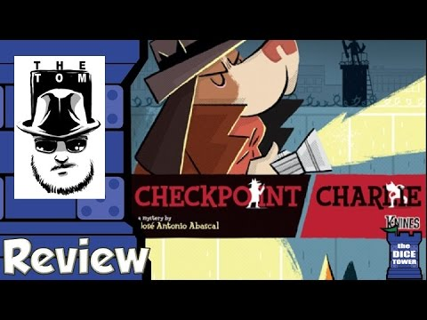 Checkpoint Charlie Review - with Tom Vasel
