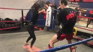 Alice Hewkin Kickboxing
