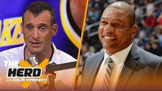 Doug Gottlieb reacts to Doc Rivers squashing Lakers head coaching rumors | NBA | THE HERD