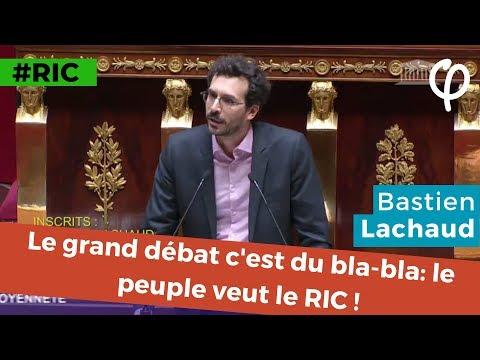 Le grand débat c'est du bla-bla : le peuple veut le RIC !