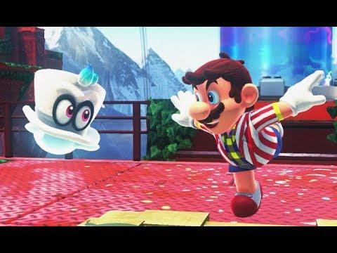 SUPER MARIO ODYSSEY - Road to Sky Garden [Wooded Kingdom] - Part 7 Nintendo Switch