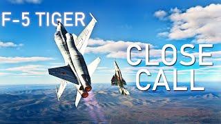 F-5 Tiger vs A-4 SkyHawk Dogfight | DCS | Digital Combat Simulator