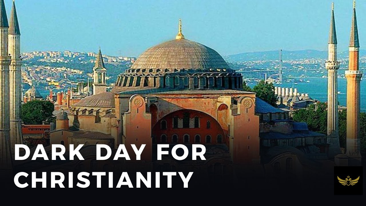 Dark day for Christianity, dark day for Greeks. Hagia Sophia to become mosque