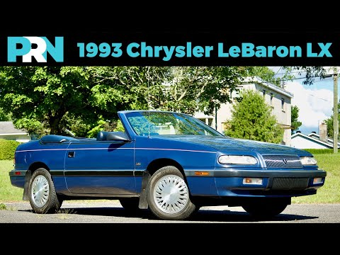 1986 Chrysler Lebaron Town Country Convertible Engine Sound On My Car Story With Lou Costabile Youtube