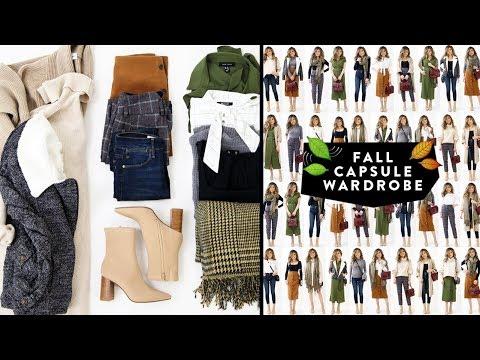 12 Items = 36 FALL CAPSULE WARDROBE Outfit Ideas Lookbook | Minimalist Fashion | Miss Louie
