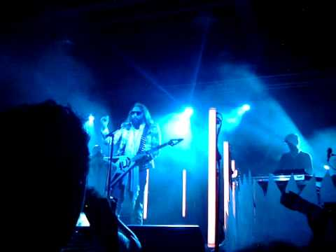 Sebastien Tellier - Against the Law (live in Milan 8th june 2012)