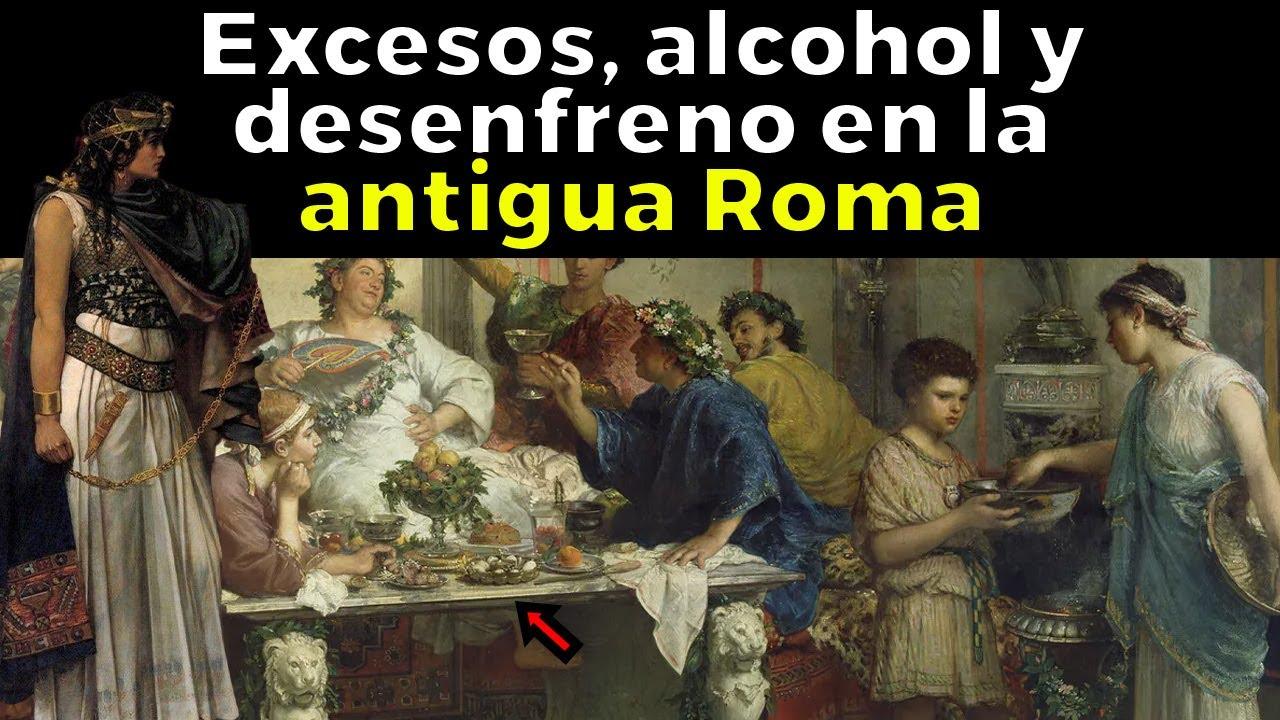 Así era ASISTIR A UNA FIESTA en la Antigua Roma