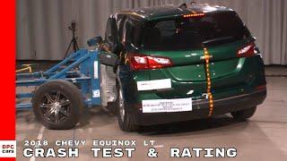 2018 Chevrolet Equinox LT SUV Side Crash Test & Rating thumbnail