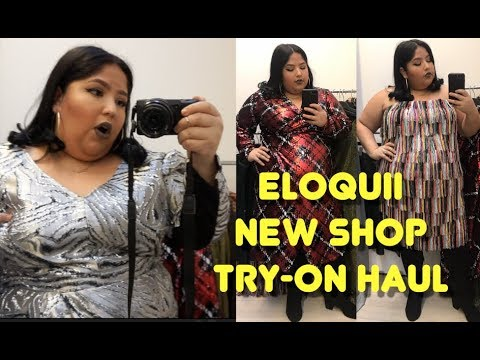 Trying on clothes in Eloquii's new pop-up store! (NYC)