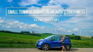 SMALL TOWN GETAWAYS in ONTARIO'S SOUTHWEST TRAILER!