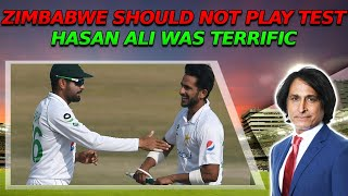 Zimbabwe should not play test | Hasan Ali was terrific