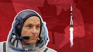 Watch the Soyuz rocket blast off with a Canadian on board