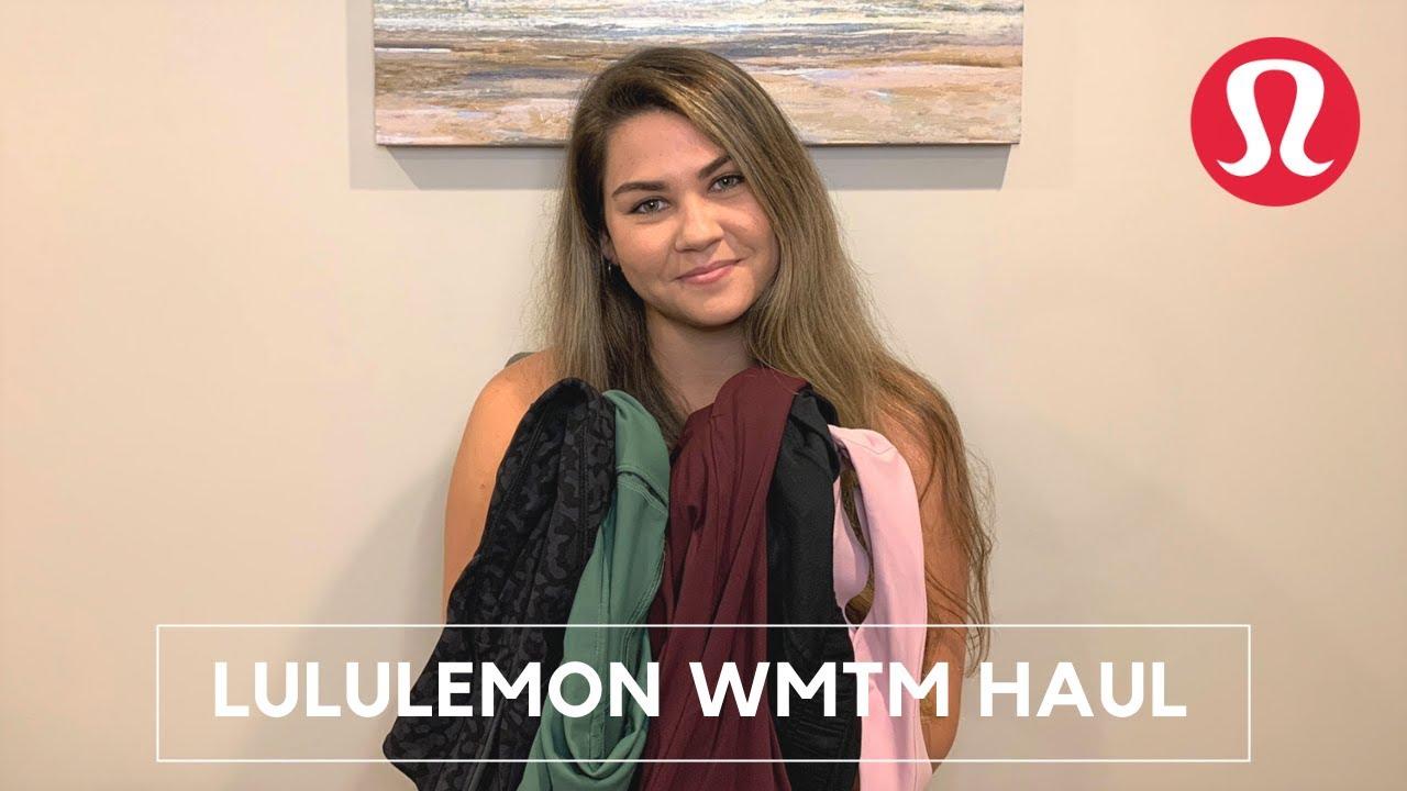 Lululemon Haul Spring 2020 | WMTM Part 2