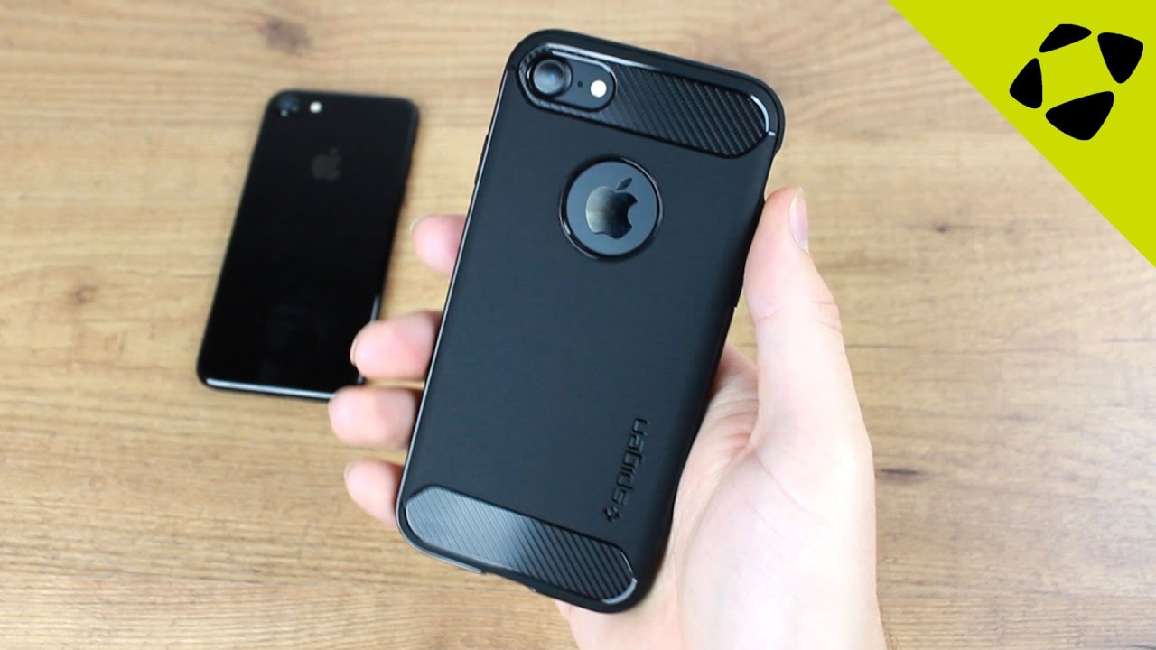 wholesale dealer 3ecf6 bc04f Spigen Rugged Armor iPhone 7 Case Review - Hands On