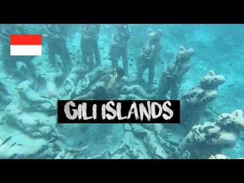INSANE SNORKLING | UNDERWATER STATUES | TRAVELLING FROM ULUWATU TO GILLI T