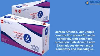 Safe Touch™ Latex Exam Gloves
