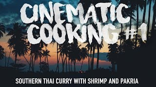 How To Make Stir Fried Southern Thai Curry with Shrimp & Pakria | Authentic Family Recipe #17