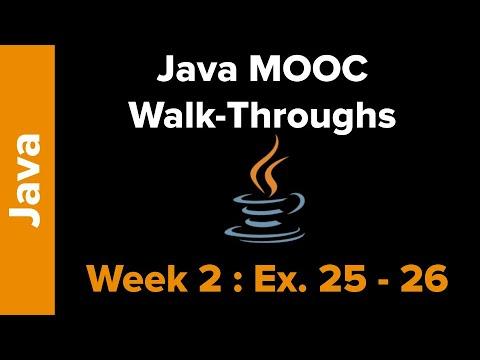 Java Mooc