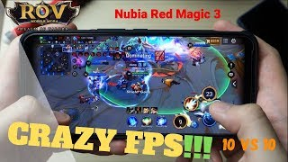 NUBIA RED MAGIC 3 - ROV 10VS10 GAME TEST!!
