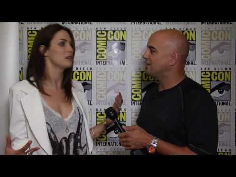 Joanne Kelly Myka Bering  for Warehouse 13 at Comic Con 2010