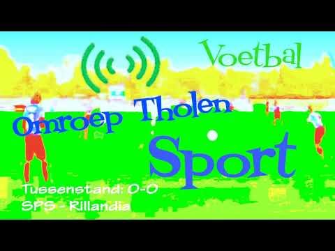 Voetbalwedstrijd SPS - Rillandia - Omroep Tholen TV