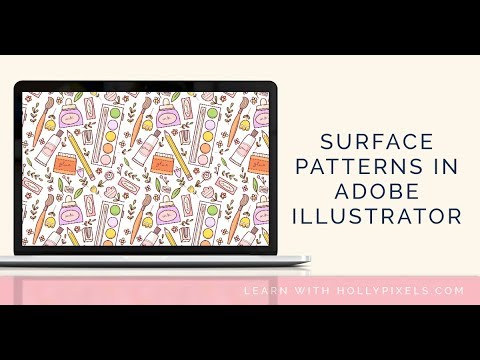 How to Make Surface Pattern Repeats in Adobe Illustrator