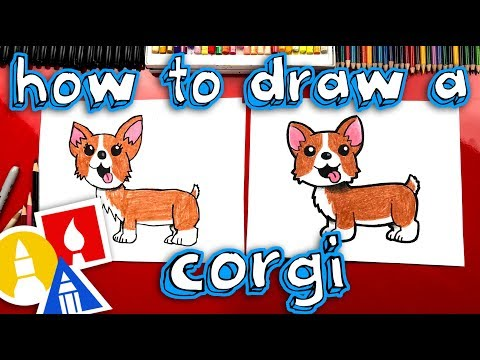 How To Draw A Corgi - DRAW ALONG WITH US!