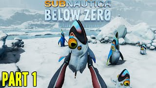 SUBNAUTICA BELOW ZERO - GAMEPLAY WALKTHROUGH PART 1 - THE INTRO + WELCOME TO THE ICE!