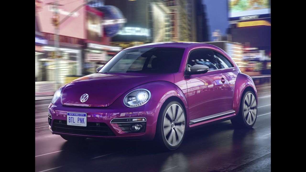 2016 new volkswagen beetle pink edition 39 2015 youtube. Black Bedroom Furniture Sets. Home Design Ideas
