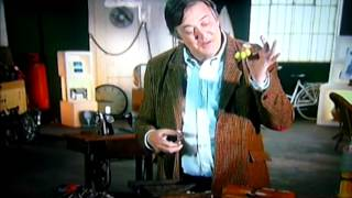 Stephen Fry Using Arthur Price Grape Scissors