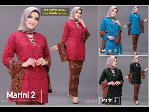 Model Baju Kebaya 2019 Untuk Wanita Berhijab Kebaya Lace Brokat Modern